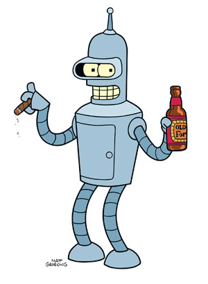 Actual character name—Bender Martinez
