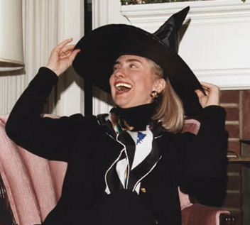 It would surprise nobody (including Bill) if she had a broom somewhere.