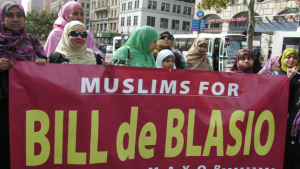 Muslims for Bill De Blasio