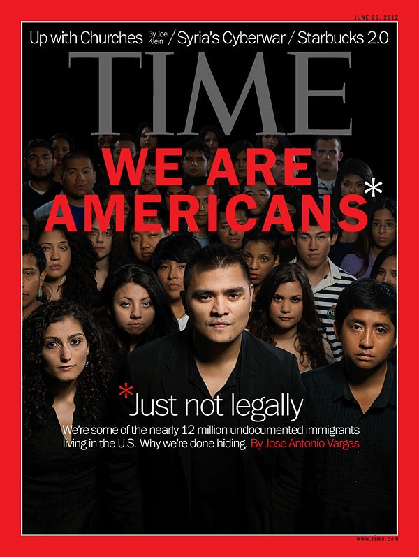 TIME magazine cover comes out about Illegal Aliens  BEFORE Obama makes  Dream Act  Part 1 his priority  Did TIME know