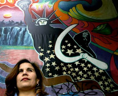 Angelica Salas, executive director of the Coalition for Humane Immigrant Rights of Los Angeles