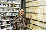 Inaam Alkhafaji describes damage to her store after Sunni-Shia violence in Detroit