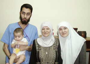Doctor Mohammed Asha and family