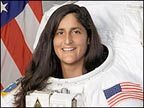 Indo-American astronaut Sunita Lyn Williams