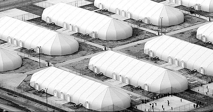 Texas tent prison