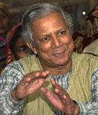 Microlending inventor Muhammad Yunus