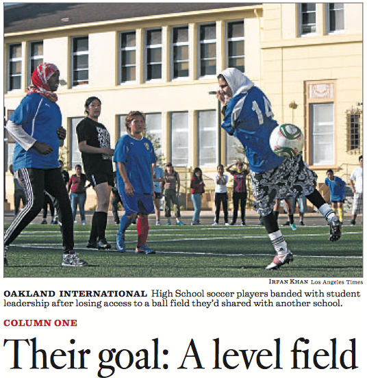 Immigrant Students' Soccer Field Grab Stomps Baseball Field of Dreams