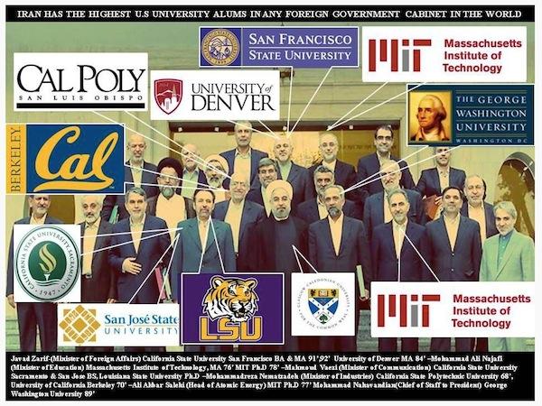 Iran Cabinet Is Tops in American Collegiate Alums   diversity ...
