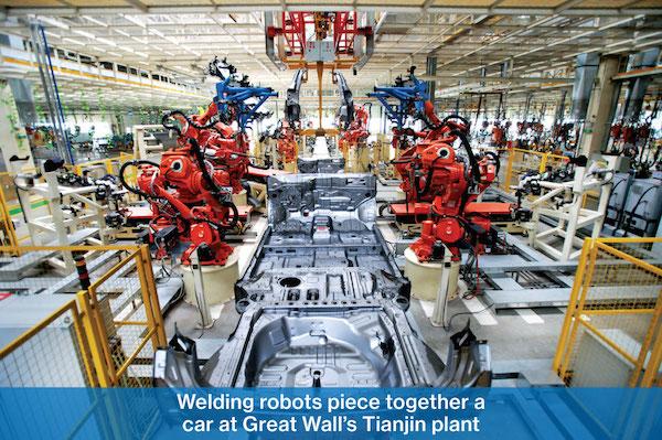 ChinaFactoryWeldingRobots