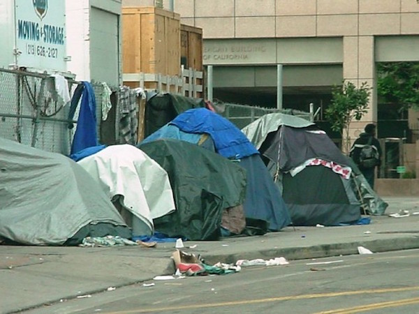 homelessness dilemma in los angeles Homelessness rose 11% in the city of los angeles and 57% in the county last year, according to a report released wednesday.