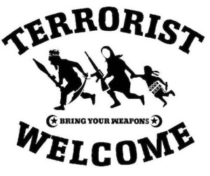 TerroristsWelcomeLikeMexicanSign