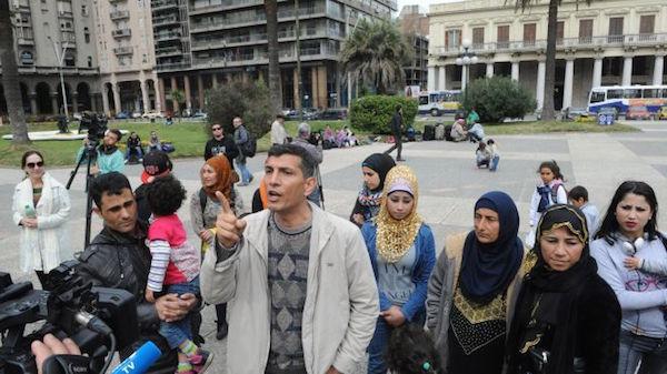 UruguaySyrianRefugeesDemandToLeave