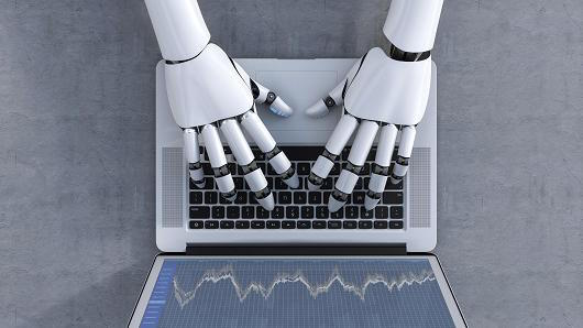 RobotHandsComputerKeyboard