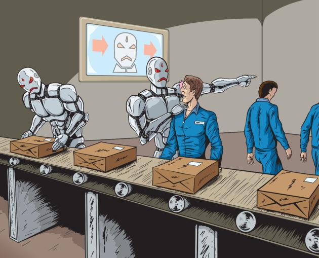 RobotsReplaceHumanWorkersIllus