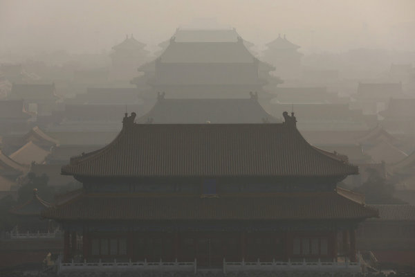 chinasmogpollutionforbiddencity