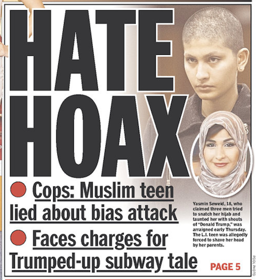 Five Muslim Hate Crime Hoaxes Are Explained