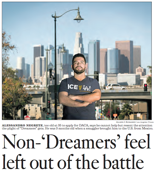 Last News On Immigration Reform: Older Illegal Aliens Are Resentful Of Dreamers
