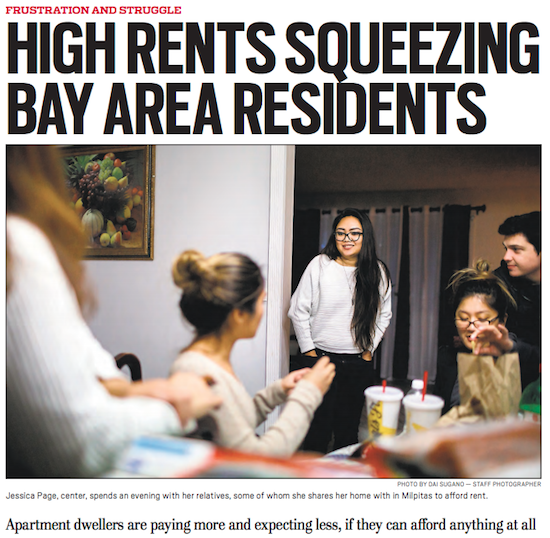 Rents In Bay Area: Rents Soar In Crowded Northern California « Limits To Growth